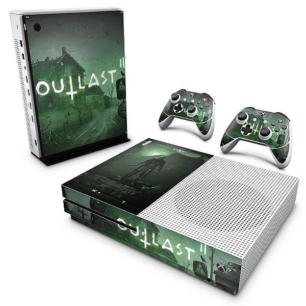 Xbox One Slim Skin - Outlast 2