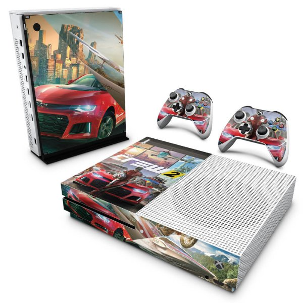 Xbox One Slim Skin - The Crew 2