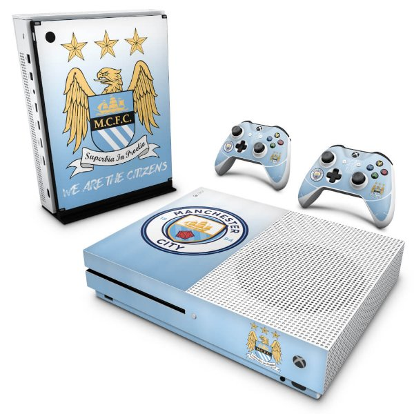 Xbox One Slim Skin - Manchester City FC