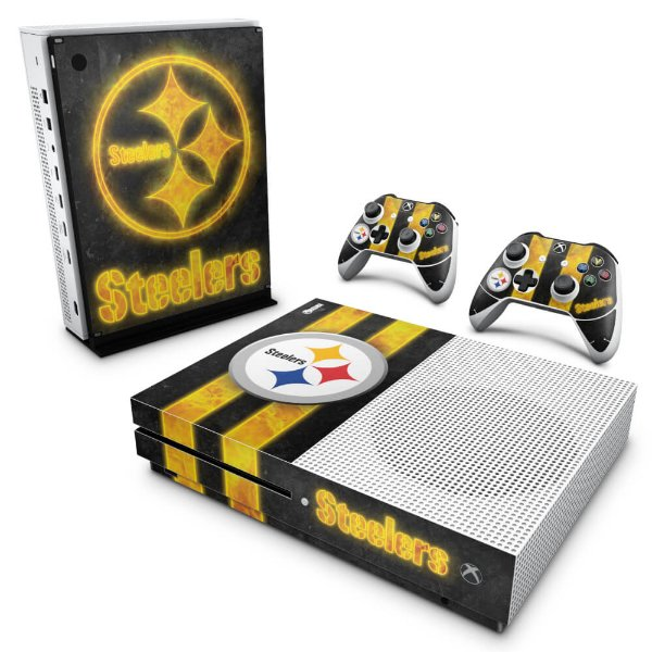 Xbox One Slim Skin - Pittsburgh Steelers - NFL
