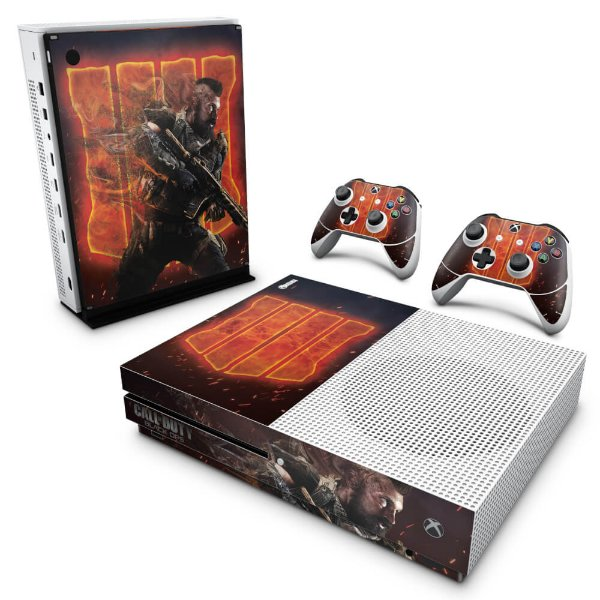 Xbox One Slim Skin - Call of Duty Black ops 4