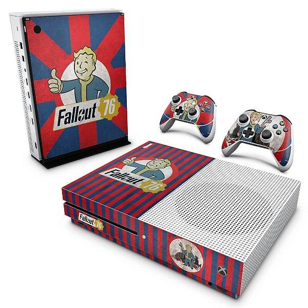 Xbox One Slim Skin - Fallout 76