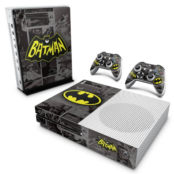 Xbox One Slim Skin - Batman Comics