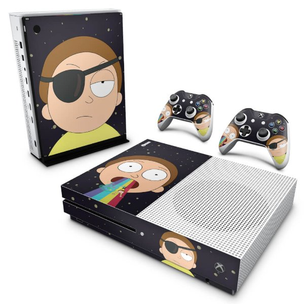 Xbox One Slim Skin - Morty Rick and Morty