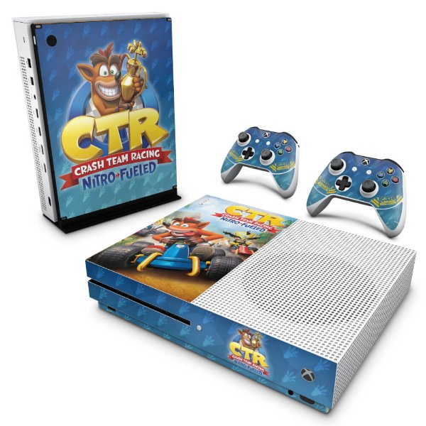 Xbox One Slim Skin - Crash Team Racing CTR
