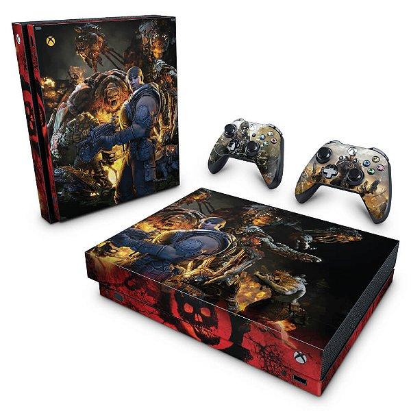 Xbox One X Skin - Gears of War