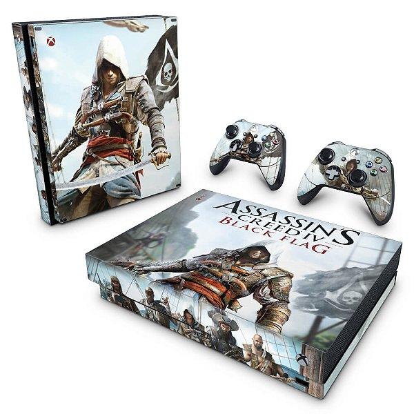Xbox One X Skin - Assassins Creed Black Flag