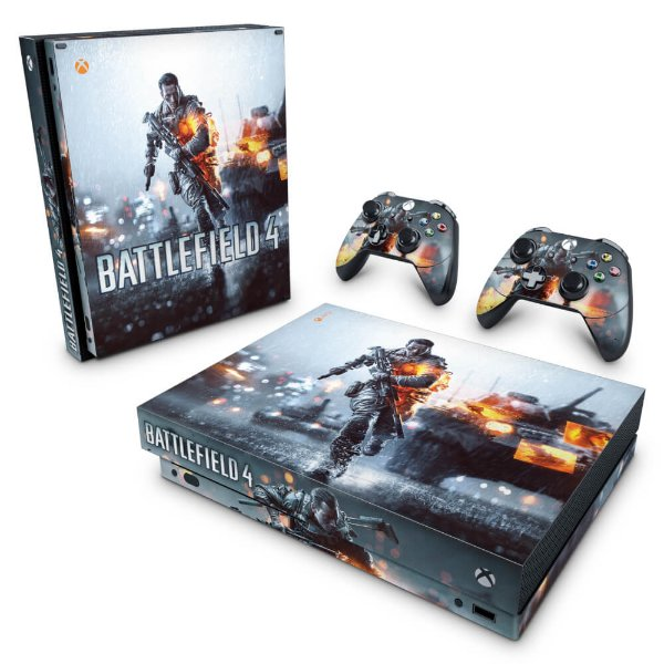 Xbox One X Skin - Battlefield 4