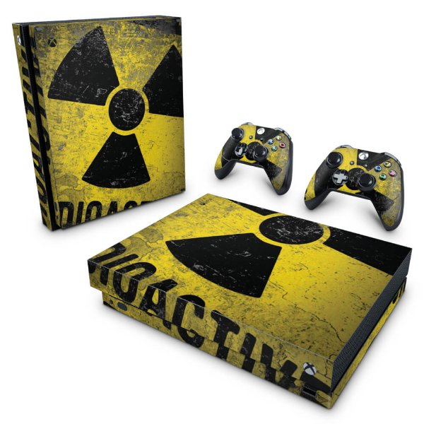 Xbox One X Skin - Radioativo