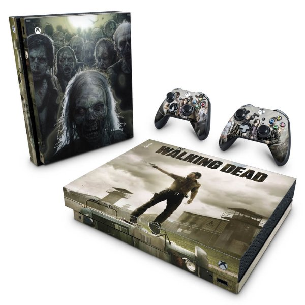 Xbox One X Skin - The Walking Dead