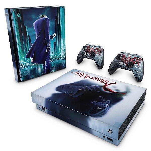 Xbox One X Skin - Coringa - Joker