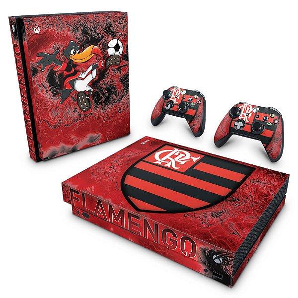 Xbox One X Skin - Flamengo
