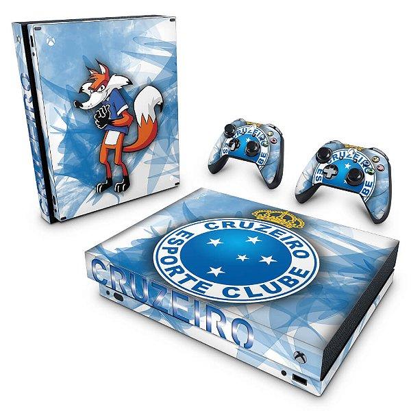 Xbox One X Skin - Cruzeiro
