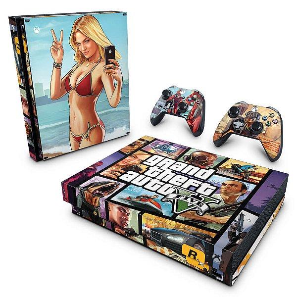 Xbox One X Skin - GTA V