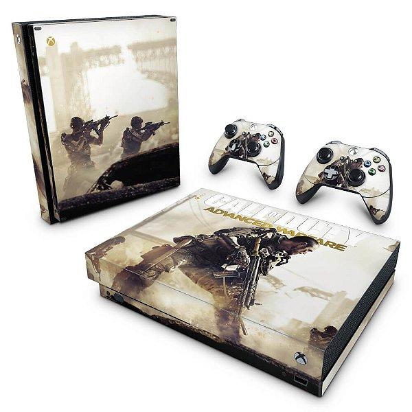 Xbox One X Skin - Call of Duty Advanced Warfare