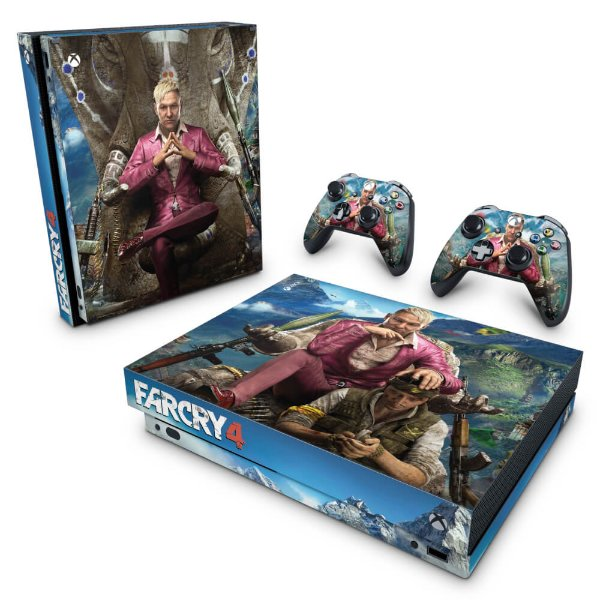 Xbox One X Skin - Far Cry 4