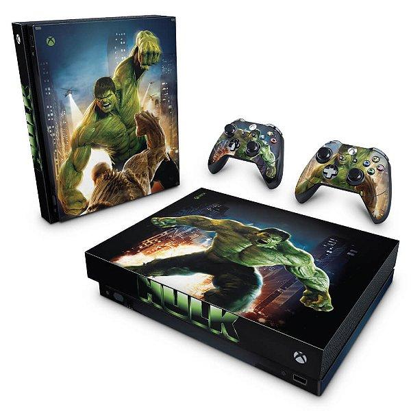 Xbox One X Skin - Hulk