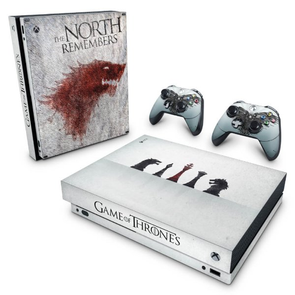 Xbox One X Skin - Game of Thrones #A