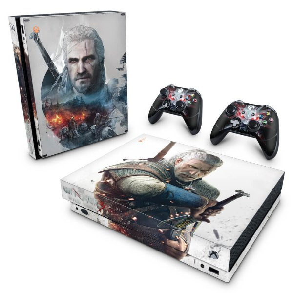 Xbox One X Skin - The Witcher 3 #B