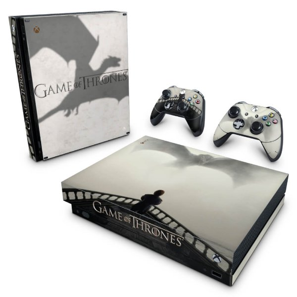 Xbox One X Skin - Game of Thrones #B