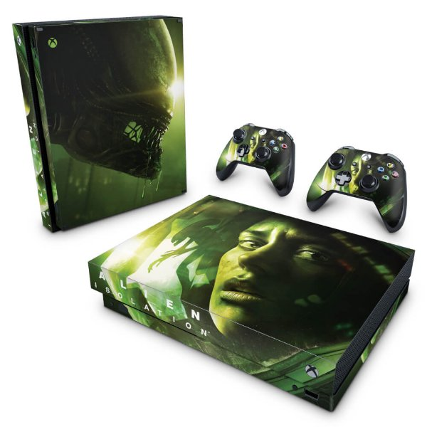 Xbox One X Skin - Alien Isolation