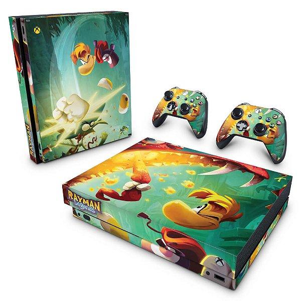 Xbox One X Skin - Rayman Legends