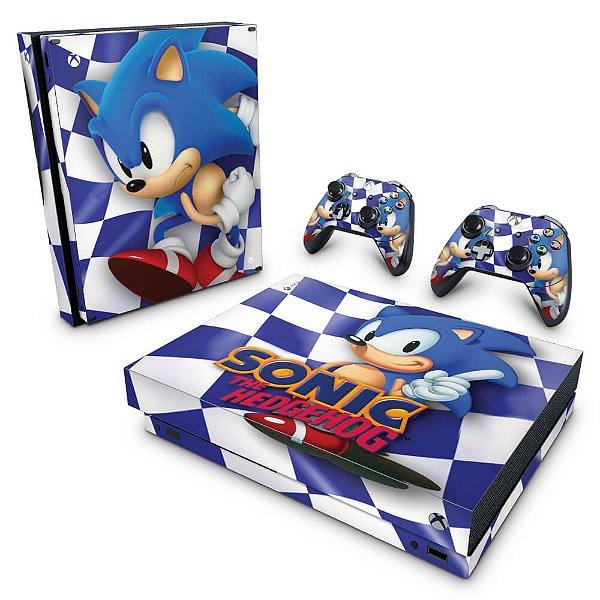 Xbox One X Skin - Sonic The Hedgehog