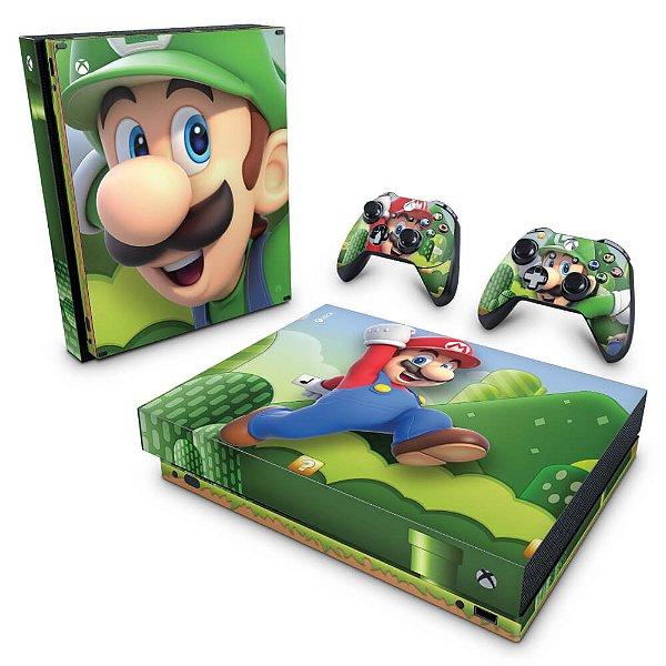 Xbox One X Skin - Super Mario Bros