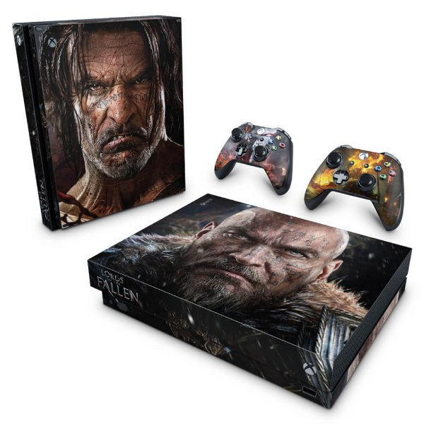 Xbox One X Skin - Lords of the Fallen