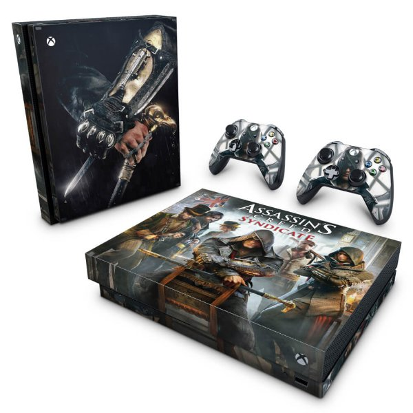 Xbox One X Skin - Assassin's Creed Syndicate