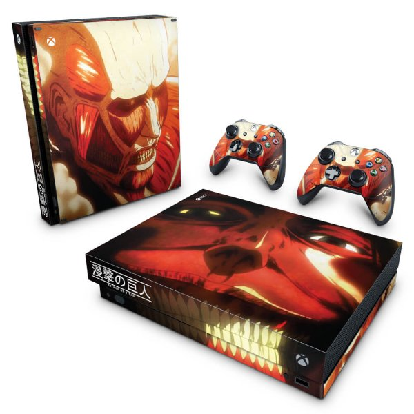 Xbox One X Skin - Attack on Titan #B