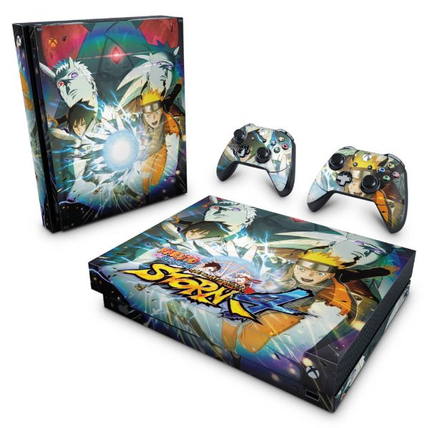 Xbox One X Skin - Naruto Shippuden: Ultimate Ninja Storm 4