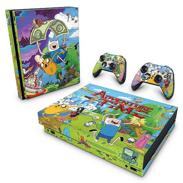 Xbox One X Skin - Hora de Aventura