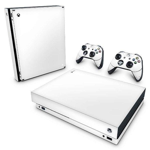 Xbox One X Skin - Branco