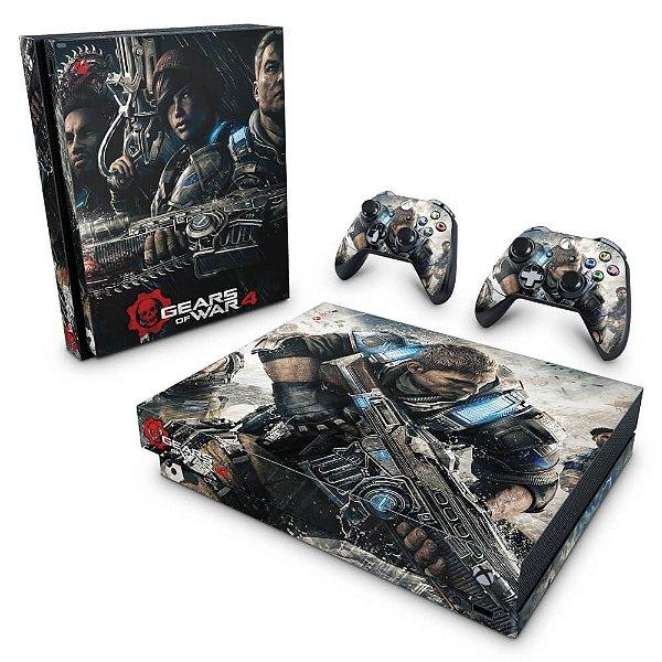 Xbox One X Skin - Gears of War 4