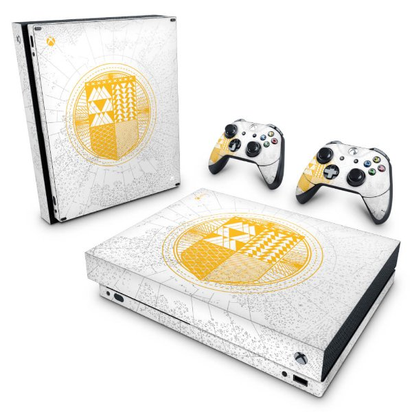 Xbox One X Skin - Destiny Limited Edition