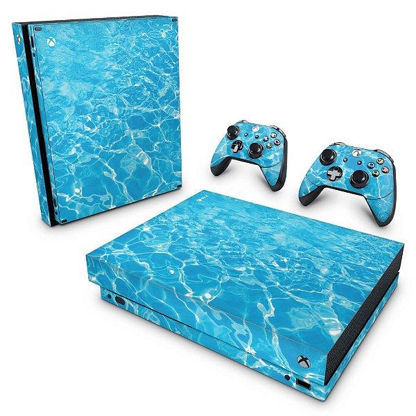 Xbox One X Skin - Aquático Água