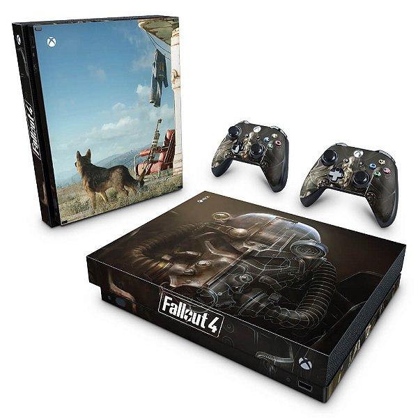 Xbox One X Skin - Fallout 4