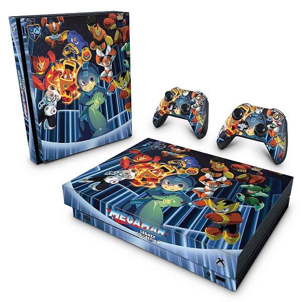 Xbox One X Skin - Megaman Legacy Collection