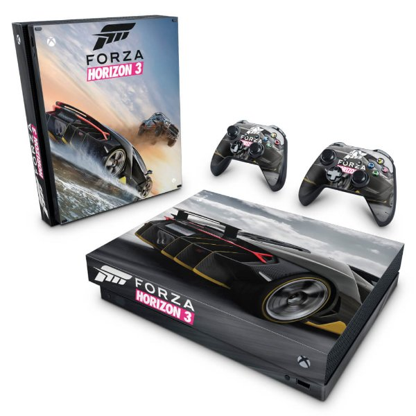 Xbox One X Skin - Forza Horizon 3