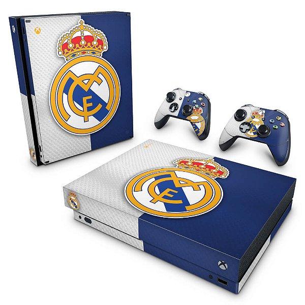 Xbox One X Skin - Real Madrid