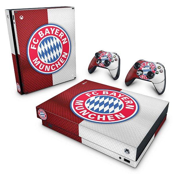 Xbox One X Skin - Bayern de Munique