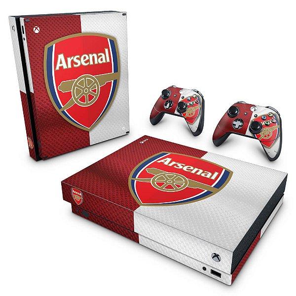 Xbox One X Skin - Arsenal Football Club