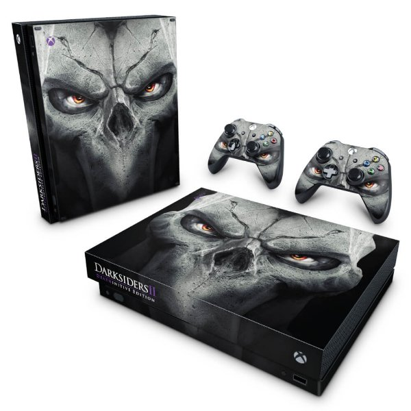 Xbox One X Skin - Darksiders 2 Deathinitive Edition