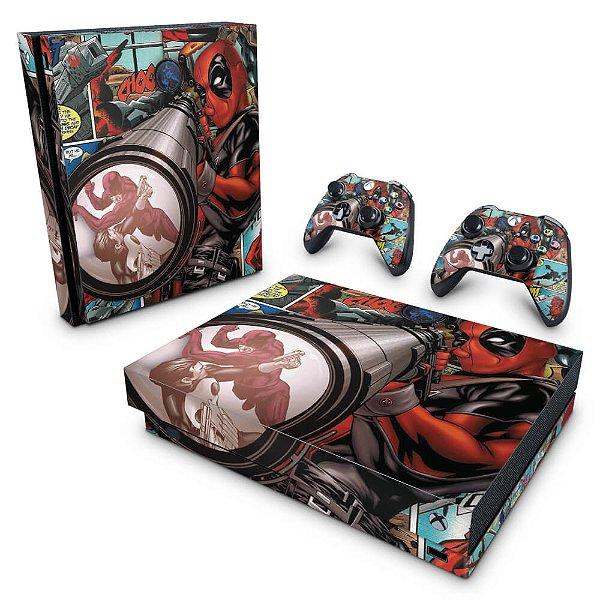 Xbox One X Skin - Deadpool