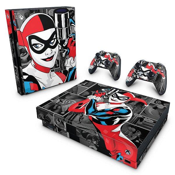 Xbox One X Skin - Arlequina Harley Quinn #A