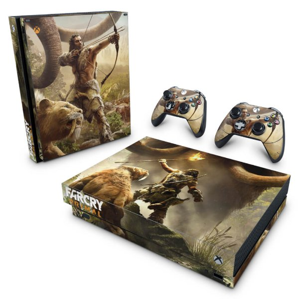 Xbox One X Skin - Far Cry Primal