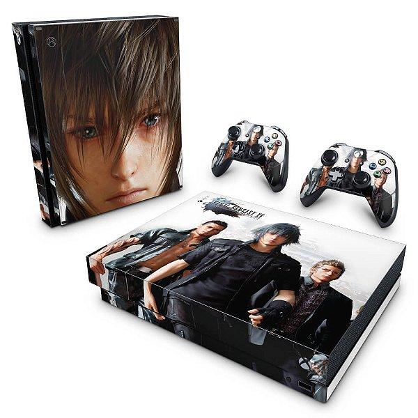 Xbox One X Skin - Final Fantasy XV #B