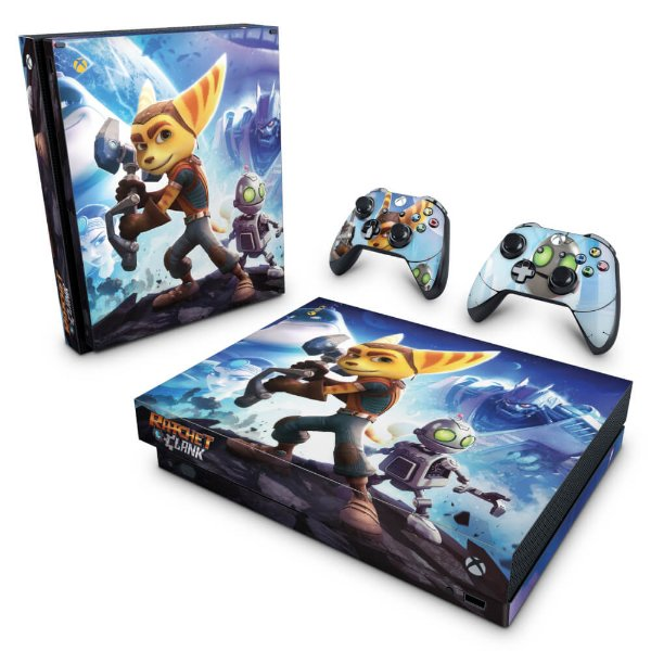 Xbox One X Skin - Ratchet and Clank