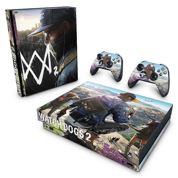 Xbox One X Skin - Watch Dogs 2